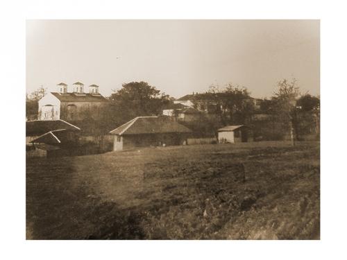 Село Медковец през 30-те години на миналия век, когато бащата на д-р Георгиев – Асен Георгиев, е назначен за кмет на общината.
